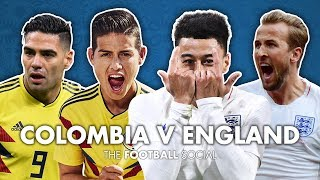 Colombia 1-1 England | Emile Heskey and Football Daily | The Football Social