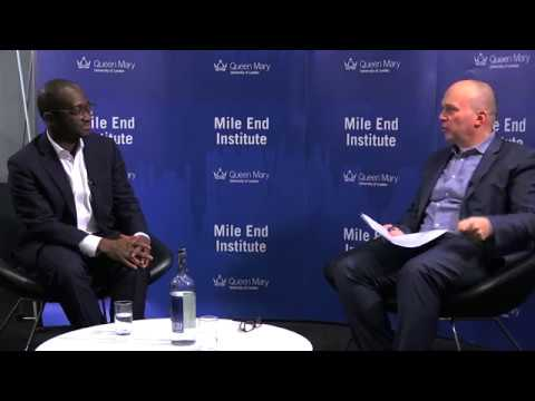 Sam Gyimah at The Mile End Institute