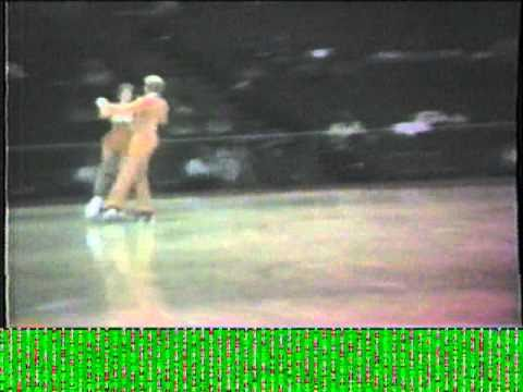 1984 Southwest Regional Roller Skating Championships - Senior Dance Elimination - Iceland Tango1