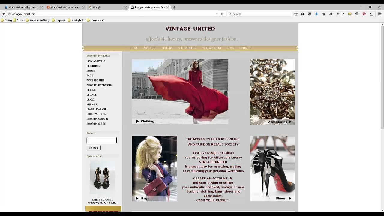 Download Tekst en afbeelding optimalisatie SEO en Google sitemap aanpassen review vintage-united.com