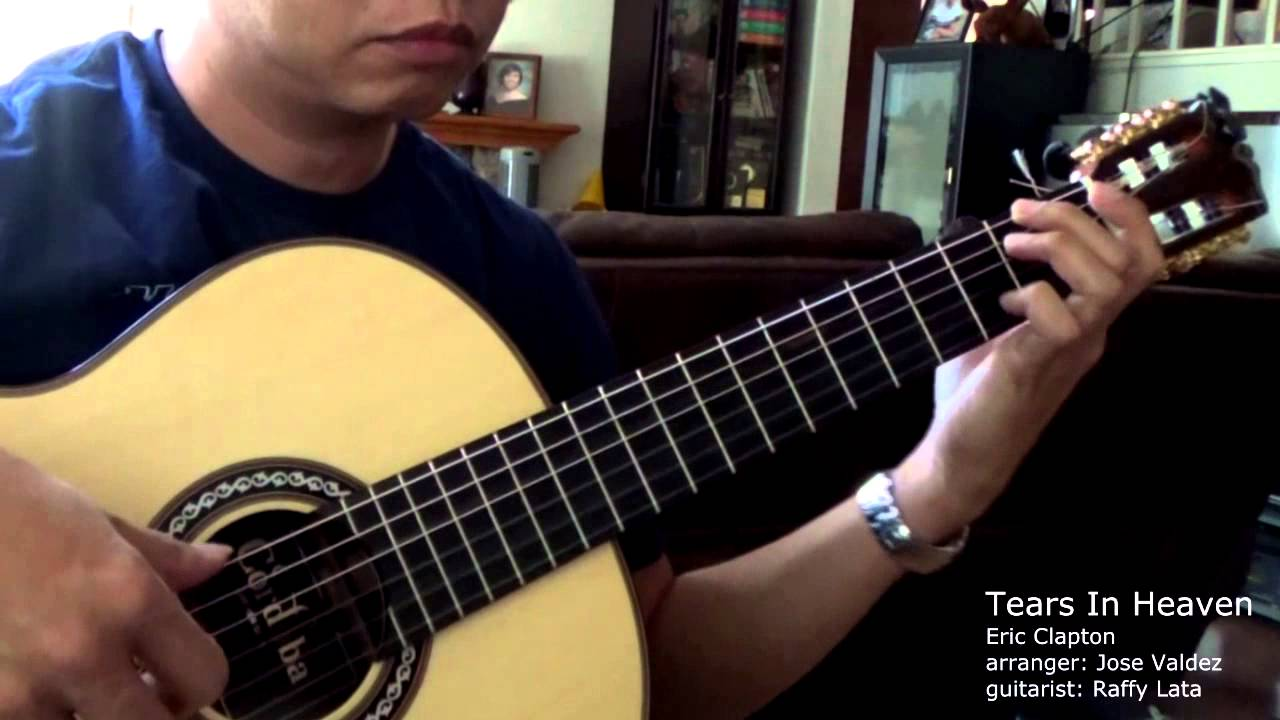 how to play tears in heaven solo