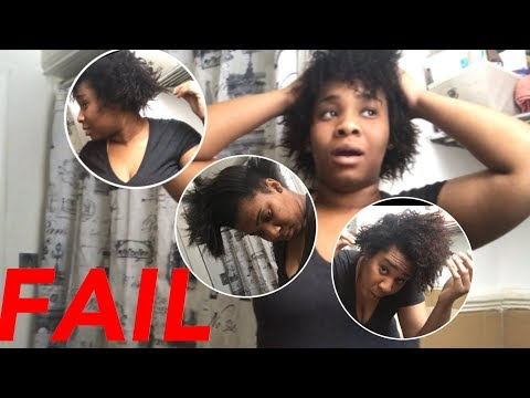 Straight to Curly Hair FAIL! Why won't my hair revert! Heat Damage? Tee Gabrielle