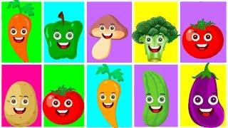 Renkler Sebzeler Meyveler | Eğitici Çizgi Film Bebek Şarkıları | Balon TV