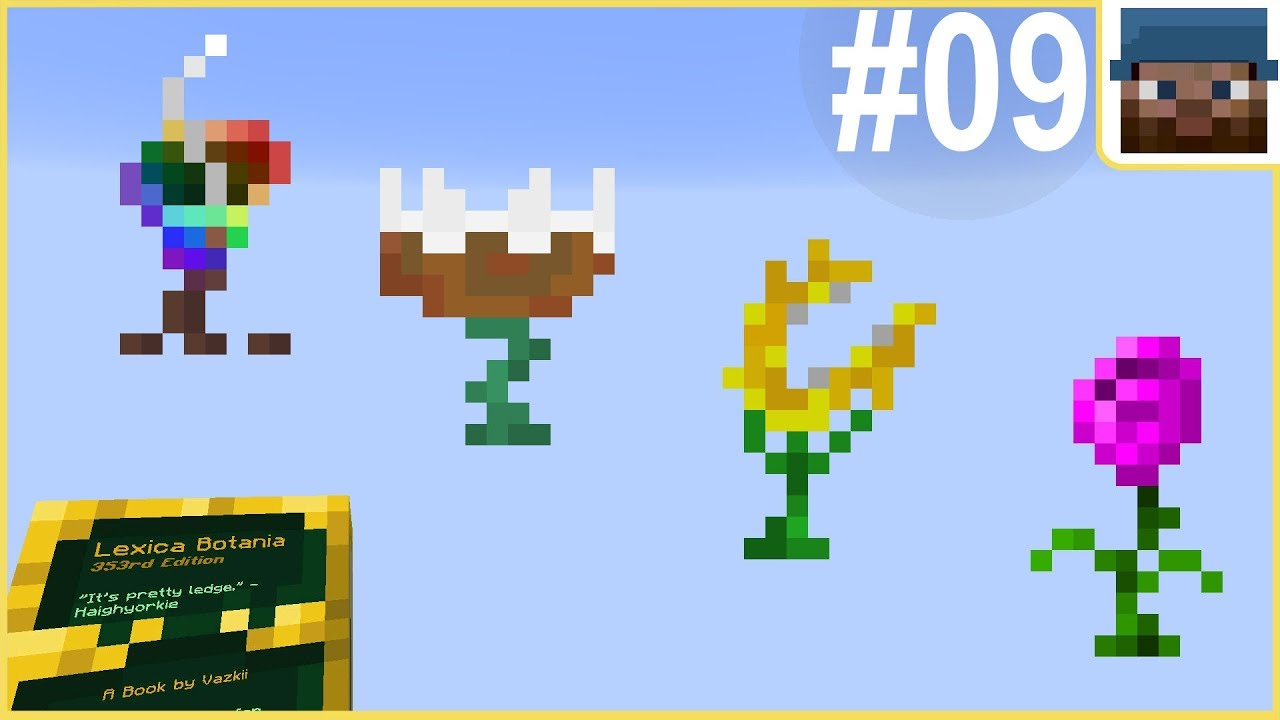 Minecraft with Botania #09 - Four Mana Makers - modded Minecraft