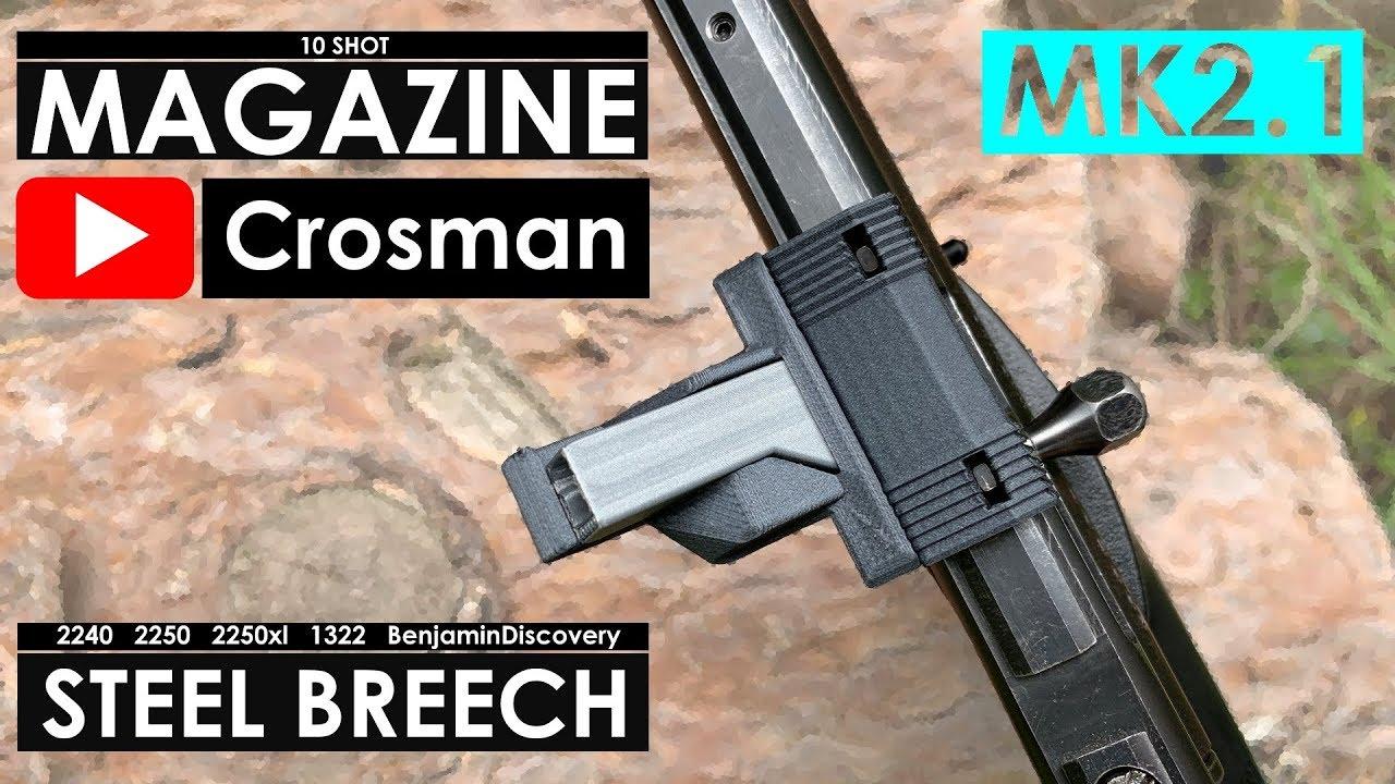 MK2 1 10 Shot Magazine for Crosman 2240 2250 and Benjamin Discovery