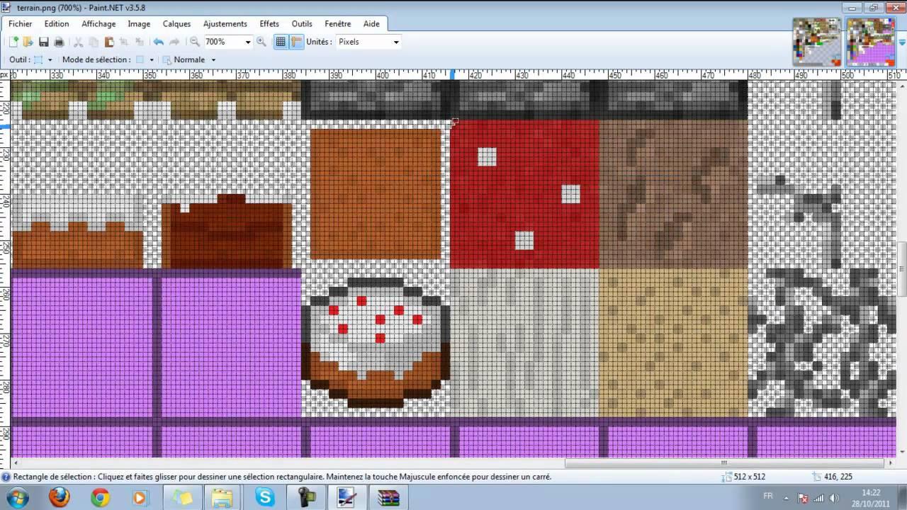 TUTO Comment faire une mise à jour d'un pack de texture ? - YouTube