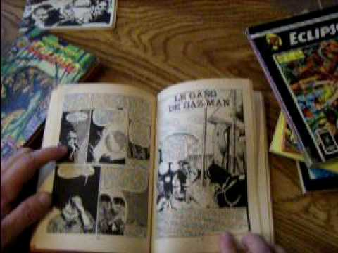 French reprints of American comicbooks