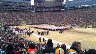 National Anthem @ Lambeau Field