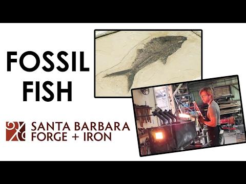 Santa Barbara Forge + Iron: Fossil Fish