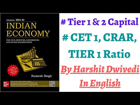 Tier 1 & 2 Capital Of Bank, CET 1 & Tier 1 Ratio, Capital Adequacy Ratio(CRAR) Explained (In Eng)
