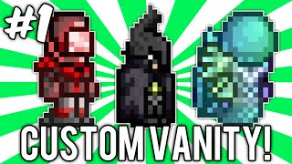 Terraria Custom Vanity Outfits #1 (merslime, Batman, & Mars Trooper Sets!) // Demize