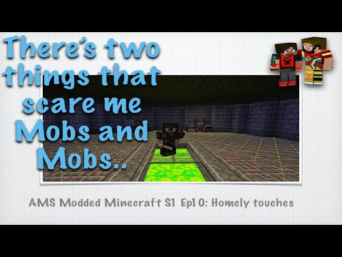 Ams Modded Minecraft S1 Ep10 Homely Touches