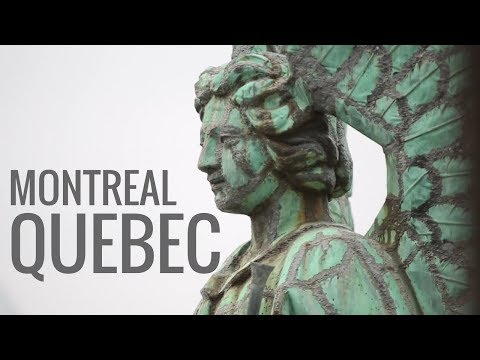 Montreal, Canada: Old Montreal, Markets, Poutine & Installation Art