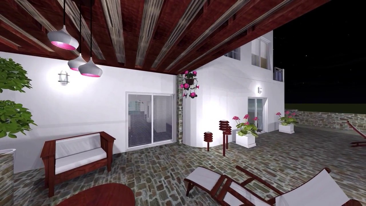 Live home 3d pro maison grecque 2 doem youtube for Home 3d