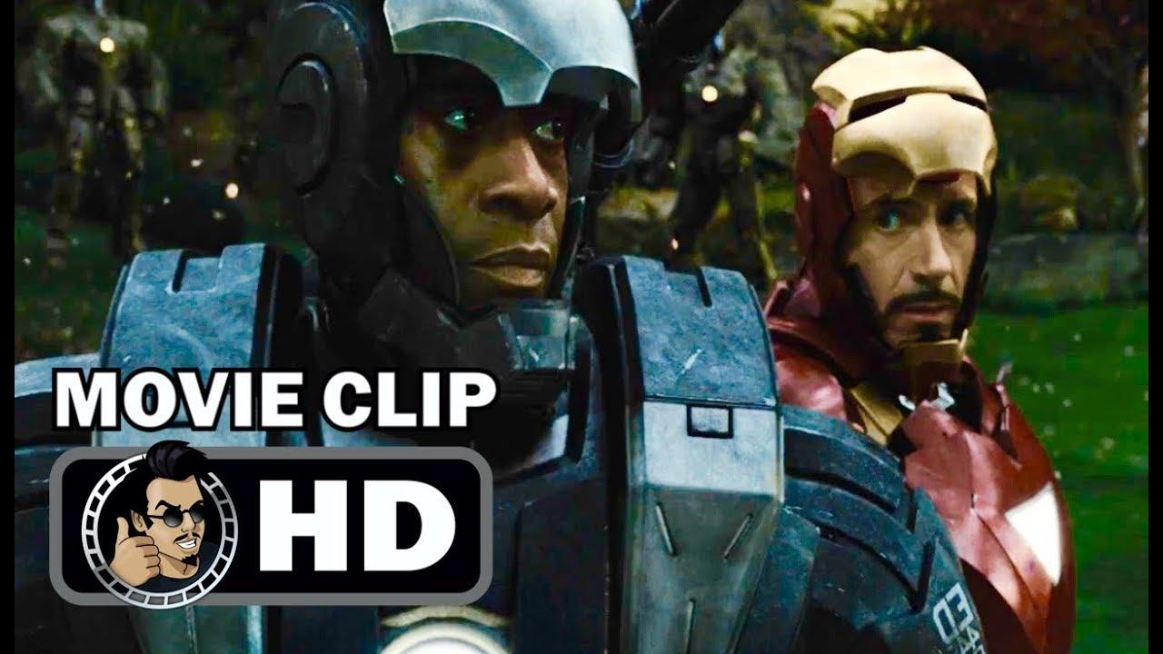 Download IRON MAN 2 Movie Clip - Tony Stark and War Machine (2010) Robert Downey Jr Marvel Superhero Movie HD