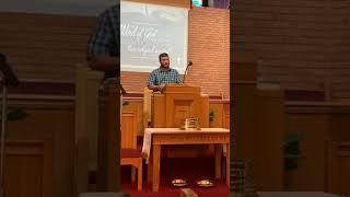 Sunday Morning Sermon 8/30/20 - Cory Sutphin