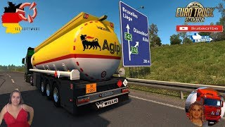 Euro Truck Simulator 2 (1.37)   SCS TrailerPatch 2.2 by Bora for v1.37 Iveco S-Way 2020 Delivery in Germany FMOD ON and Open Windows Naturalux Graphics and Weather Spring Graphics/Weather v3.5 (1.37) by Grimes + DLC's & Mods  SCS Software News Iberian Pen