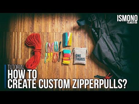 HOW TO create custom Zipperpulls. TUTORIAL - 동영상