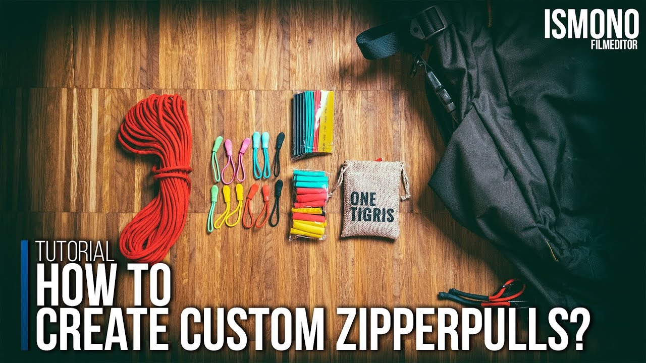 How To Create Custom Zipper Pulls Tutorial Carryology Exploring