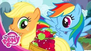 Мультики онлайн. Игры пони. МАЙ ЛИТЛ ПОНИ. Дружба - это чудо! Маленький пони Серия 4. Сбор урожая