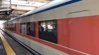 東武鉄道100系104F編成(南栗橋車両管区春日部支所)。