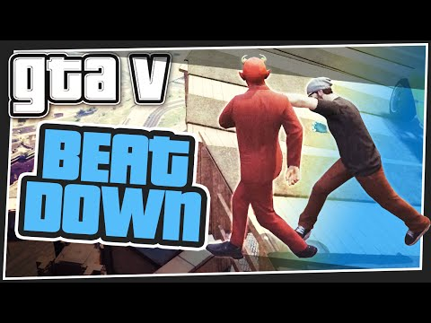 GTA 5 Online - Skyscraper Beat Down (GTA V Minigames)