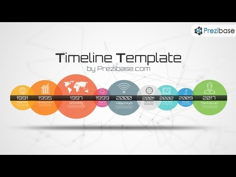Timeline Template  Prezi Template  Youtube