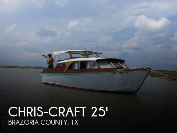 [UNAVAILABLE] Used 1960 Chris-Craft Cavalier Express Cruiser 25 in  Freeport, Texas
