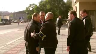 Охранник Барвиненка ударил оператора