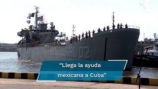 Llegan a Cuba donaciones de alimentos y medicinas de México y Bolivia