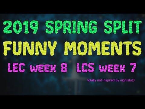 LCS & LEC Funny Moments: Episode 8  - Spring Split 2019