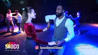 Steeve Oagi and Tatiana Kondrashova Salsa Dancing at 2nd Moscow MamboMania weekend, Sat 09.03.2019