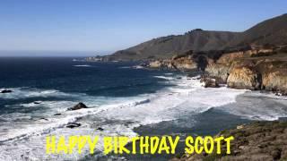 Scott - beaches - Happy Birthday