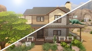 ABANDONED RANCH // The Sims 4: Fixer Upper - Home Renovation