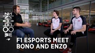 F1 Esports | Meet Bono and Enzo