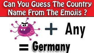 Only a True Genius Can Name The Countries from the Emojis - 99% Fail