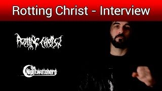 Rotting Christ Interview (English Subs)