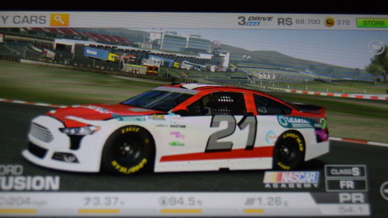 Real racing 3 100 works hack cheat glich customizing ford fusion nascar