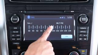2015 Nissan Altima - Audio System with Navigation (if so equipped)