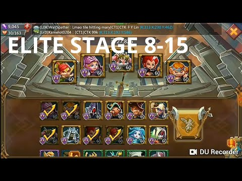 Lords Mobile - 3 Crown Elite Stage 8-15