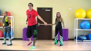Bajo El Sol - Jay Aponte - Merengue Dance Fitness W/ Bradley - Crazy Sock TV