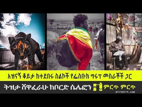 ትዝታ ሸዋፈራሁ| አዝናኝ ቆይታ ከተደበሩ ስልኮች(bored cellphone) መስራቾች ጋር  mirtmirt Ethiopia