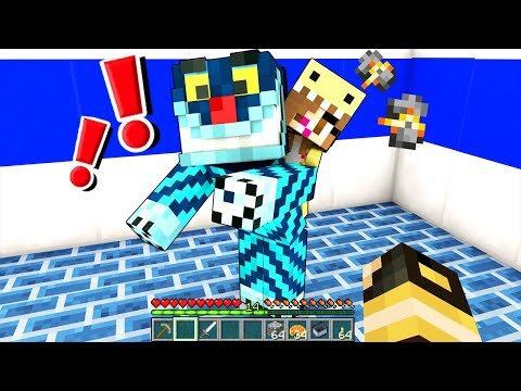 MIA FIGLIA SIRI HA PAURA DI ALEX!! - Casa di Minecraft #15