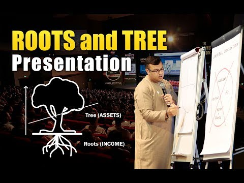 Roots And Tree Concept Presentation | Financial Planning Presentation | Dr Sanjay Tolani