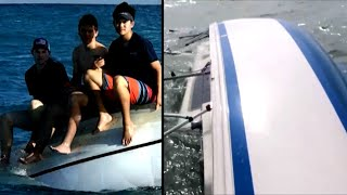 Amazing Rescues From Capsized Boats