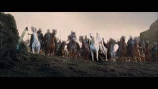 Winged hussars arrived to helms deep