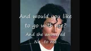 Much Too Soon - Michael Jackson (Lyrics)