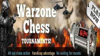 Chesscube #310: Evening Chesscube two minute chess warzone - Board of War - 5th August 2013