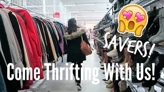 Come Thrifting with Us at Savers | Brand Name Clothing for Cheap Prices!