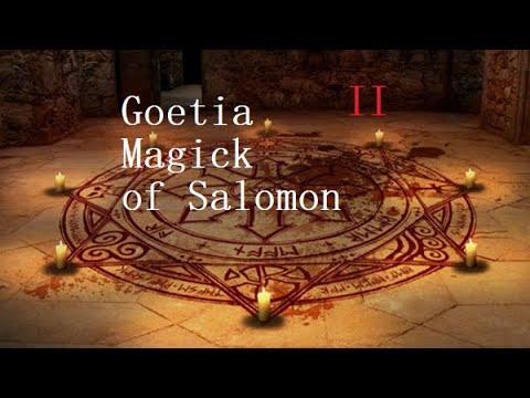 Goetia Solomon Magick II